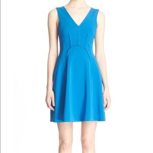 NWT Rebecca Taylor Sleeveless Fit and Flare Dress